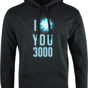 Mikina unisex I love you 3000