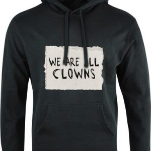 Mikina Unisex We are all clowns